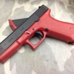 A very red Glock
